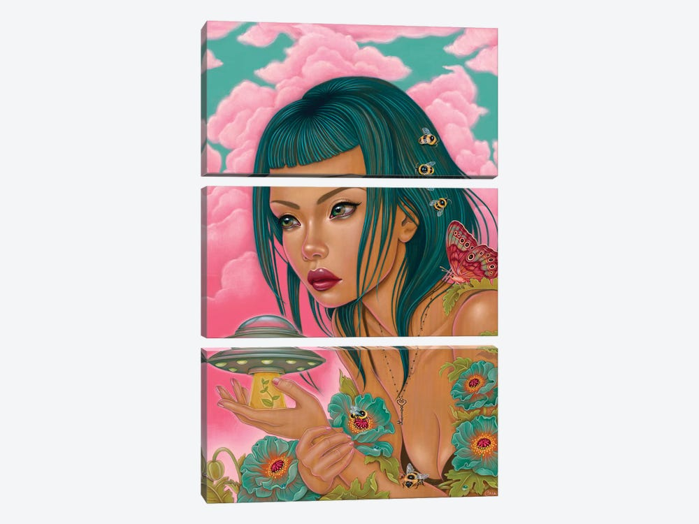Our Own Worst Enemy by Caia Koopman 3-piece Art Print