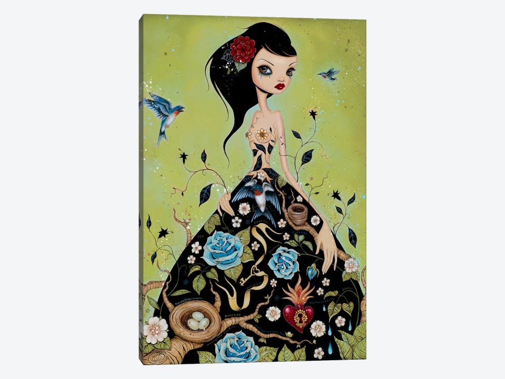 Chemical Girl by Caia Koopman 1-piece Art Print