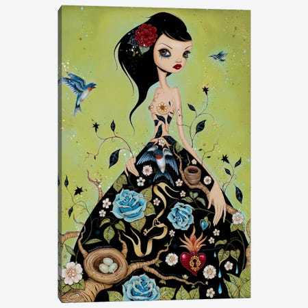 Chemical Girl Canvas Print #CAI8} by Caia Koopman Art Print