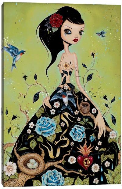 Chemical Girl Canvas Art Print