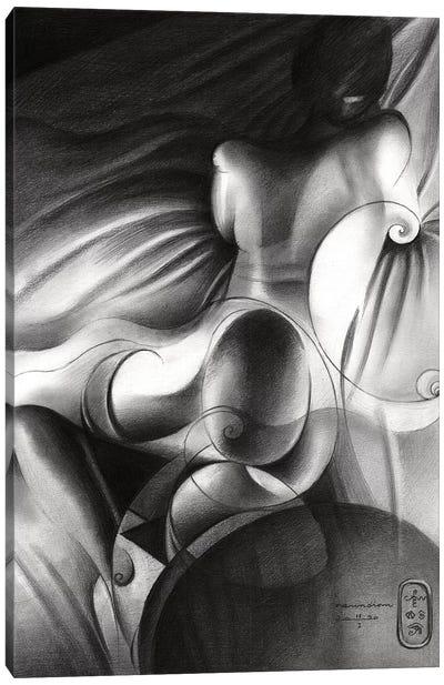 Roundism XXIX Canvas Art Print