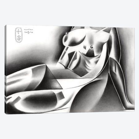 Roundism XXXVI Canvas Print #CAK118} by Corné Akkers Canvas Wall Art