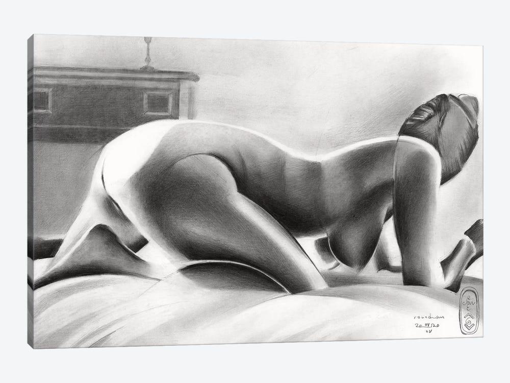 Roundism XL by Corné Akkers 1-piece Art Print