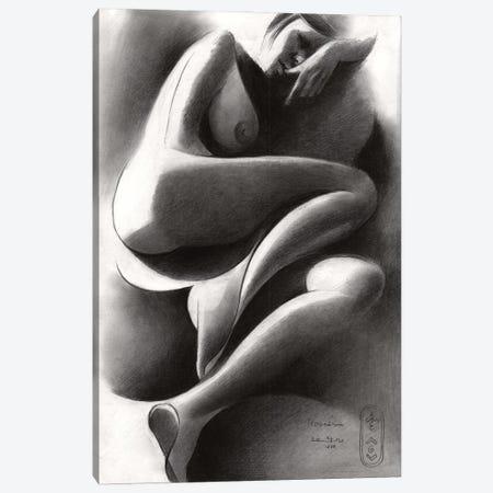 Roundism XlIV Canvas Print #CAK128} by Corné Akkers Art Print