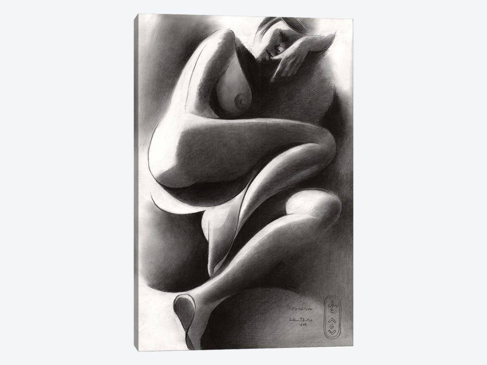 Roundism XlIV by Corné Akkers 1-piece Art Print