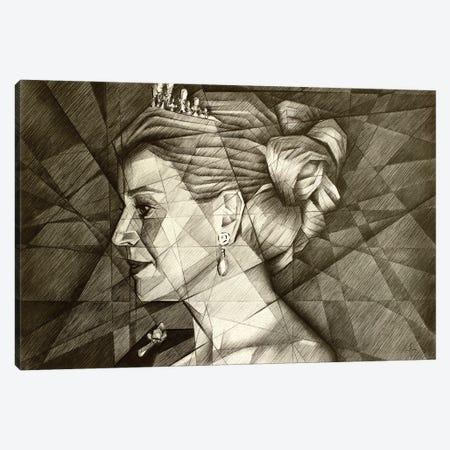 Queen Maxima Canvas Print #CAK129} by Corné Akkers Art Print