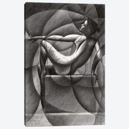 Art Deco Nude Canvas Print #CAK135} by Corné Akkers Canvas Print