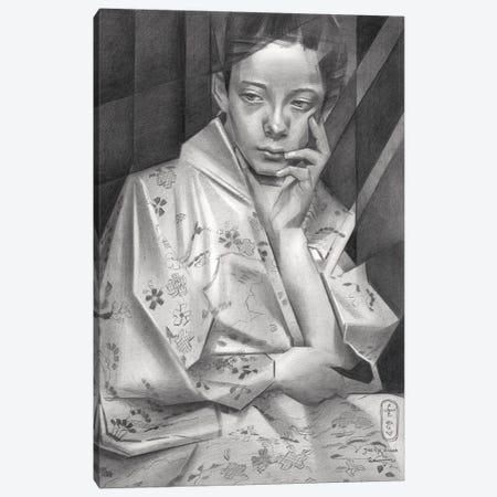 Geesje Kwak Canvas Print #CAK137} by Corné Akkers Canvas Print