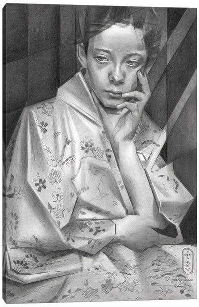 Geesje Kwak Canvas Art Print