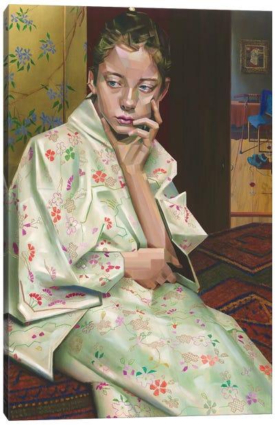 Geesje Kwak In oil Canvas Art Print