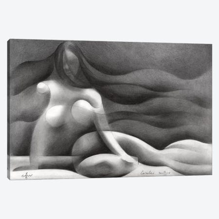Lorelei Canvas Print #CAK13} by Corné Akkers Canvas Art