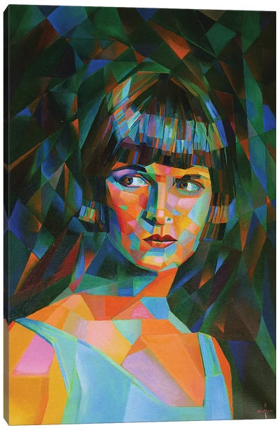 Louise Brooks Canvas Art Print