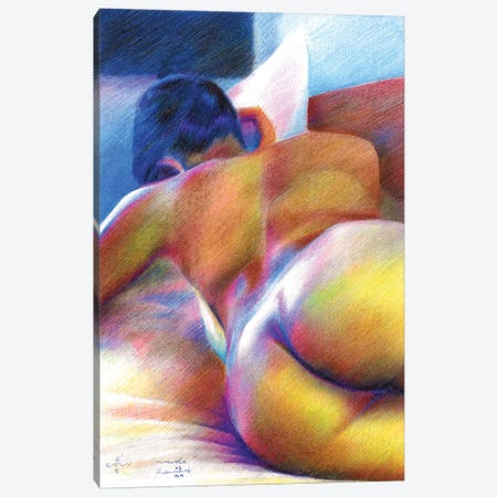 Nude I Canvas Print #CAK18} by Corné Akkers Canvas Wall Art