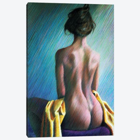 Nude II Canvas Print #CAK19} by Corné Akkers Canvas Artwork
