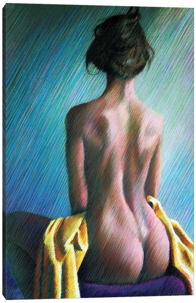 Nude II Canvas Art Print