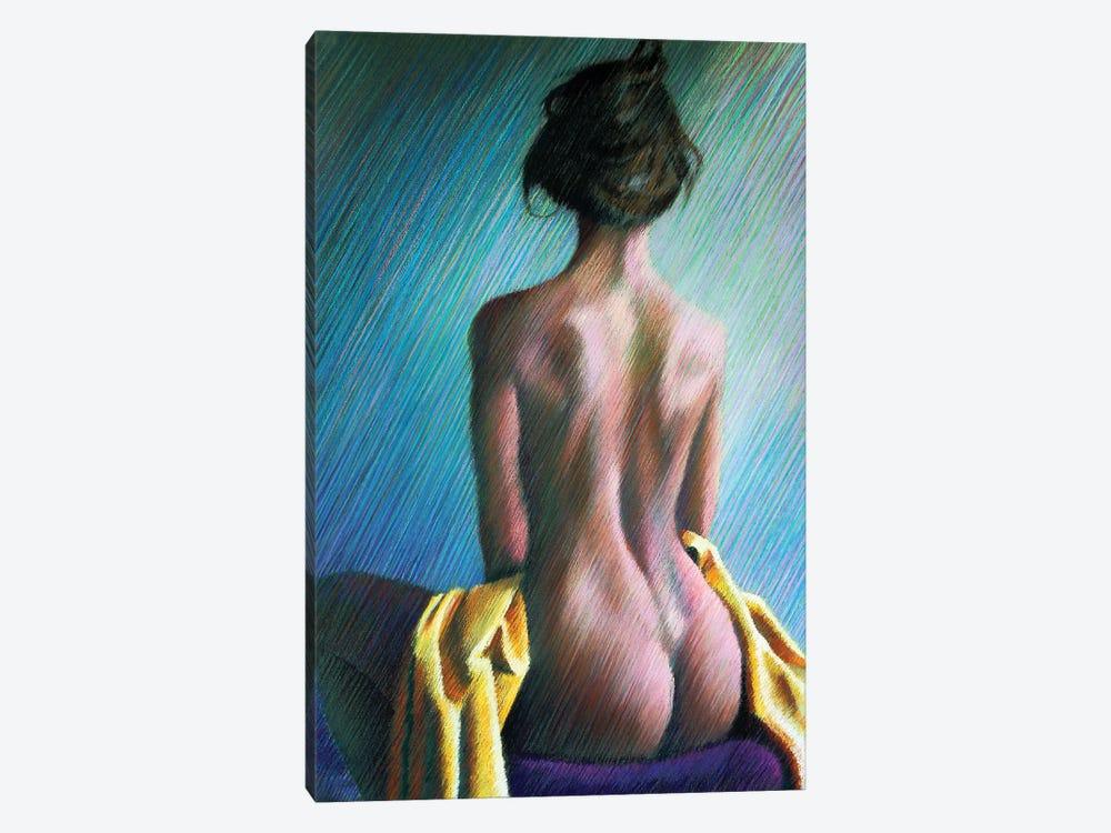 Nude II by Corné Akkers 1-piece Canvas Artwork
