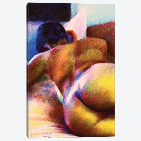 Nude III Canvas Print #CAK20} by Corné Akkers Canvas Art Print