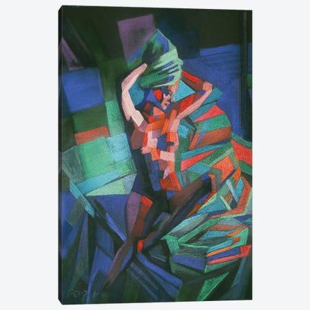 Romy Schneider Canvas Print #CAK24} by Corné Akkers Canvas Wall Art