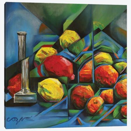 Abstract Fruits Canvas Print #CAK2} by Corné Akkers Canvas Art Print