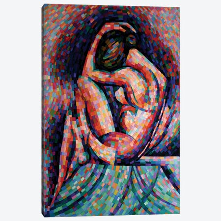 Roundism VI Canvas Print #CAK30} by Corné Akkers Canvas Art