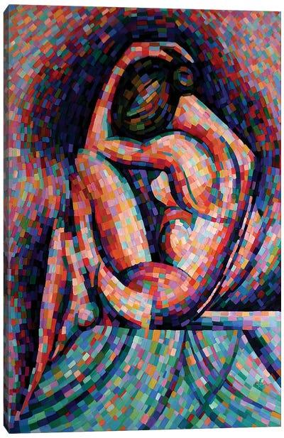 Roundism VI Canvas Art Print