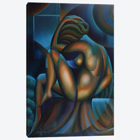 Roundism VIII Canvas Print #CAK32} by Corné Akkers Canvas Wall Art