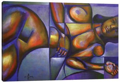 Roundism IX Canvas Art Print