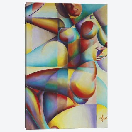Roundism XII Canvas Print #CAK36} by Corné Akkers Art Print
