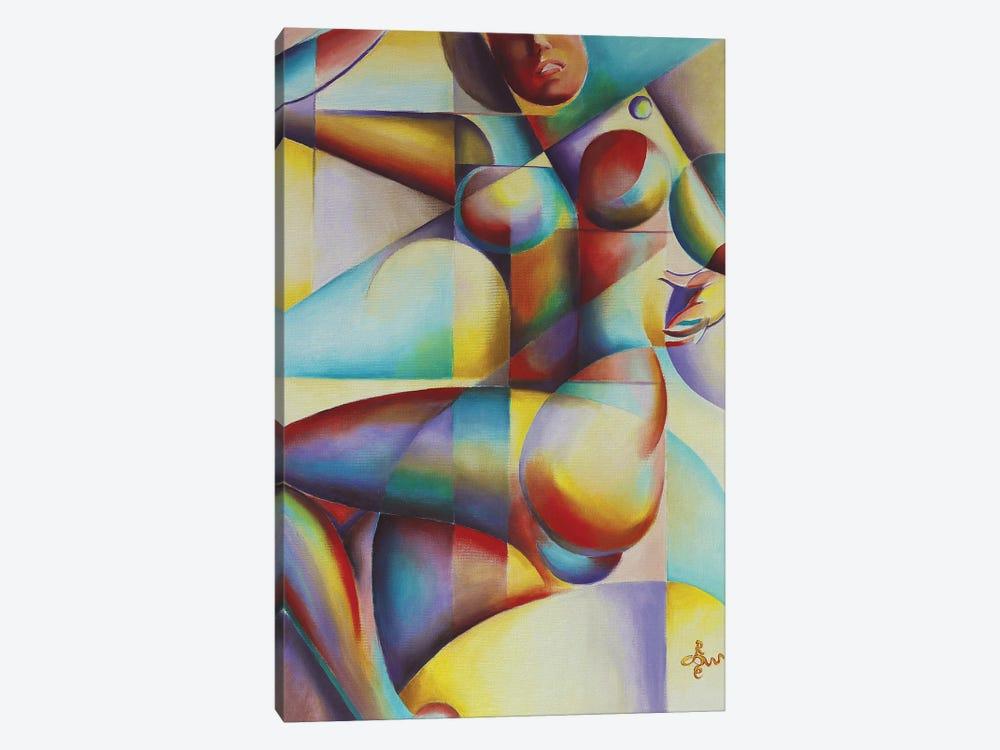 Roundism XII by Corné Akkers 1-piece Art Print