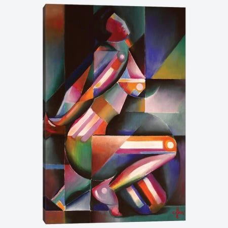 Roundism XIII Canvas Print #CAK37} by Corné Akkers Canvas Print