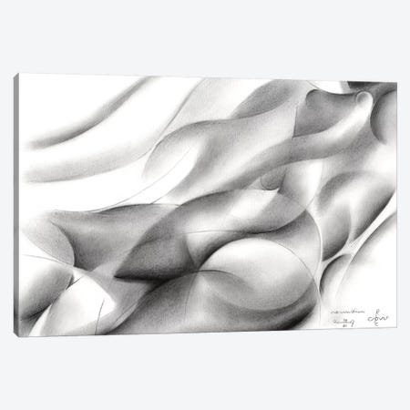 Roundism XIV Canvas Print #CAK38} by Corné Akkers Canvas Artwork