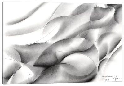 Roundism XIV Canvas Art Print