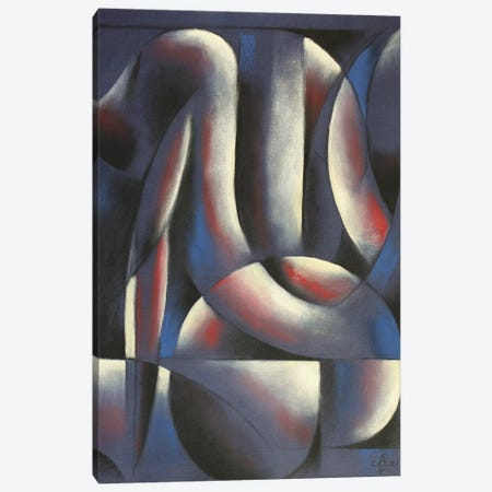 Roundism XV Canvas Print #CAK39} by Corné Akkers Canvas Artwork