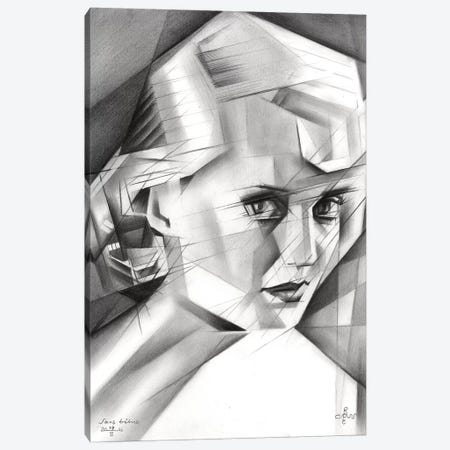 Sans Titre VI Canvas Print #CAK48} by Corné Akkers Canvas Print