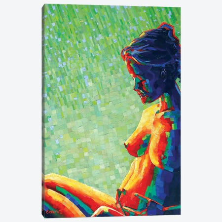 Cubistic Nude X Canvas Print #CAK54} by Corné Akkers Canvas Art Print
