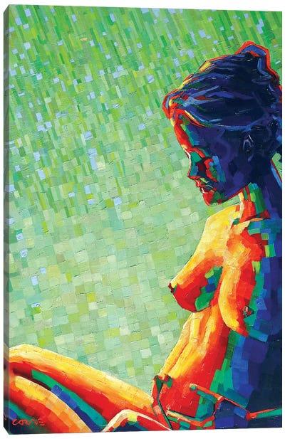 Cubistic Nude X Canvas Art Print