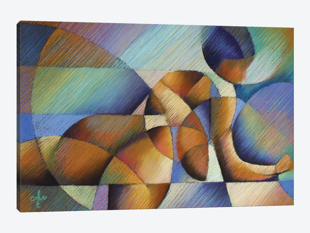 Roundism XX by Corné Akkers 1-piece Canvas Art Print