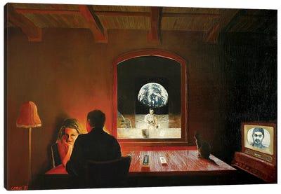 Secret Of The 50s Canvas Art Print