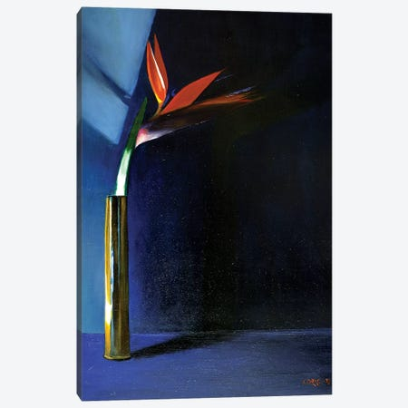 Strelitzia Canvas Print #CAK58} by Corné Akkers Canvas Wall Art