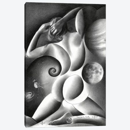 Heavenly Body Canvas Print #CAK64} by Corné Akkers Canvas Wall Art