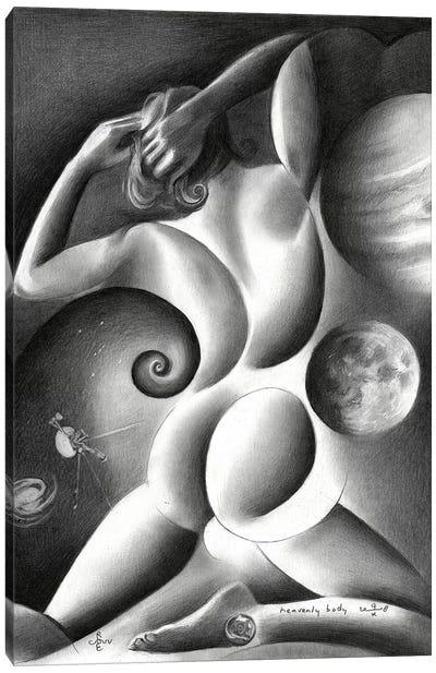 Heavenly Body Canvas Art Print