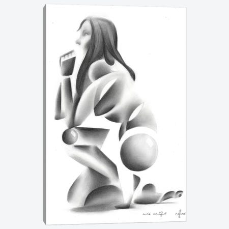 Nude VIII Canvas Print #CAK72} by Corné Akkers Canvas Art