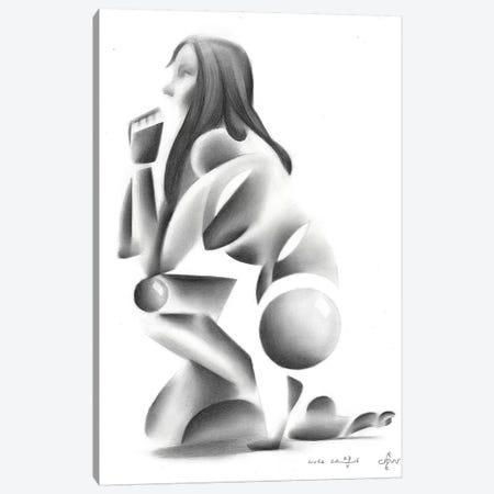 Nude VIII Canvas Print #CAK72} by Corné Akkers Canvas Art