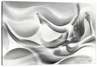 Roundism XXII Canvas Art Print
