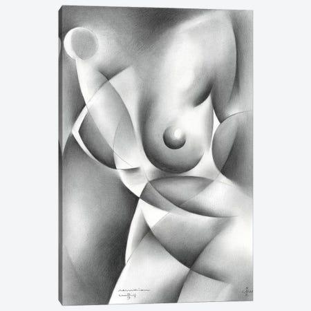 Roundism XXIV Canvas Print #CAK77} by Corné Akkers Art Print