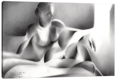 Tribute To Man Ray (Lee Miller) Canvas Art Print