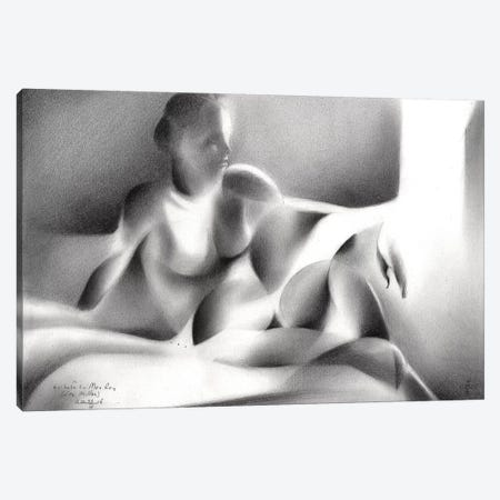 Tribute To Man Ray (Lee Miller) 3-Piece Canvas #CAK90} by Corné Akkers Canvas Wall Art