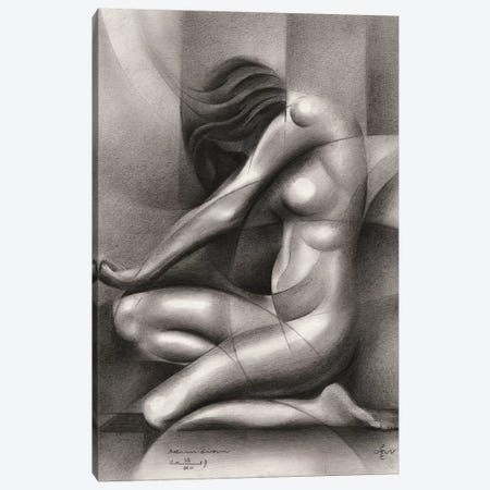 Roundism XIX Canvas Print #CAK97} by Corné Akkers Canvas Print
