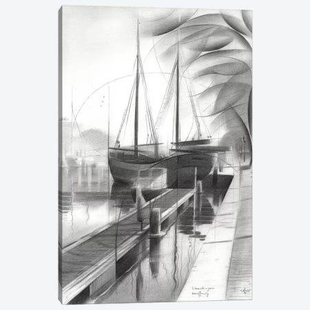 Vlaardingen Canvas Print #CAK98} by Corné Akkers Canvas Art