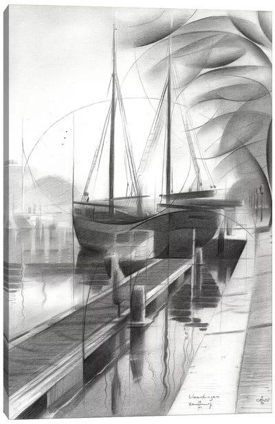 Vlaardingen Canvas Art Print